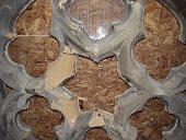 Crumbling masonry