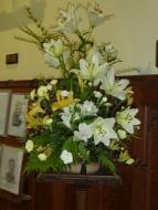 Flowers in St. Martin's Chapel