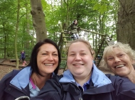 Guide Leaders - Sam, Lindsay and Sue