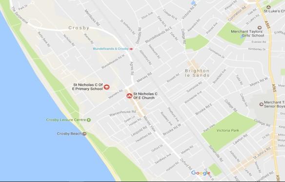 google-map-of-st-nicholas-church
