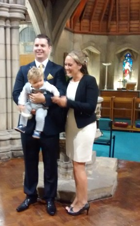Baptism for baby Mainey