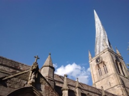 Chesterfield Parish Church's crooked spire
