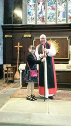 2015 in St. Helen's Church, Sefton with Bishop Paul Bayes