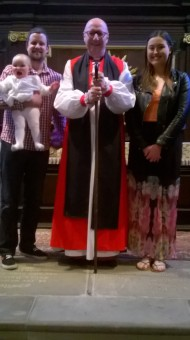 2015 Confirmation in St. Helens Church, Sefton with Bishop Paul Bayes
