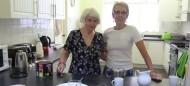 Serving Tea at Fellowship