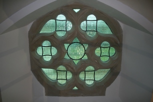 Restored clerestory window