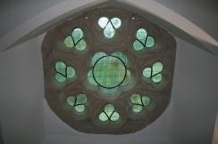 Restored clerestory window
