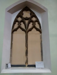 Stained glass at specialist restorers