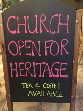 We are Open for Heritge!