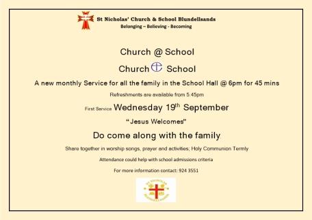 2018.09.06 - Church in School