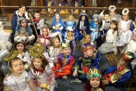 Toddler church Nativity