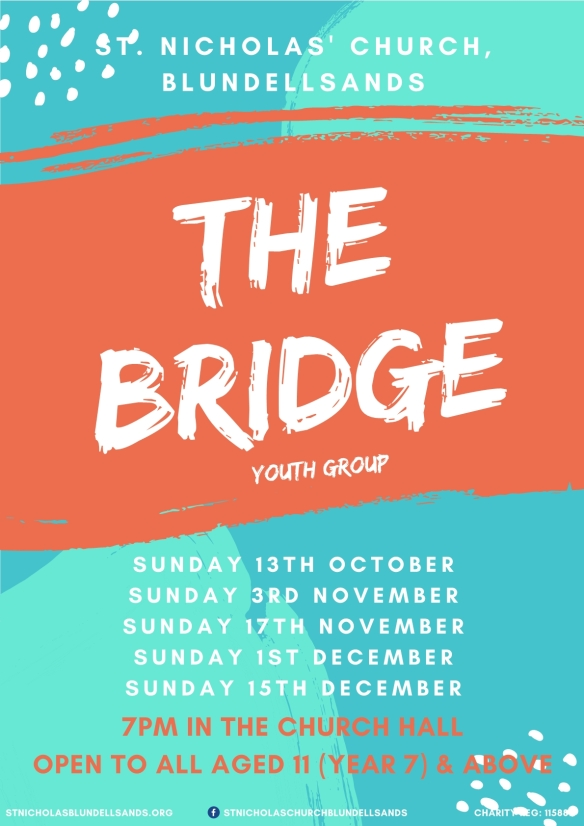 2019.10 -Bridge Youth Club Dates